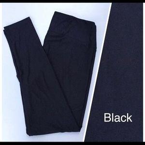 LuLaRoe Leggings OS BLACK